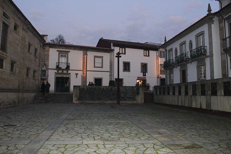 Terreiro da Sé de Braga em Portugal