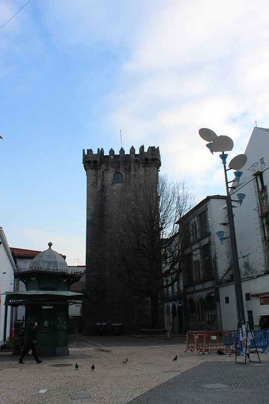 Torre de Menagem - Braga em Portugal