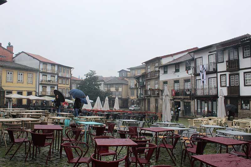 Praça de São Tiago - Guimarães Portugal