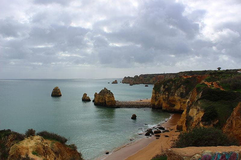 Praia do Pinhão - Lagos - Praias do Algarve