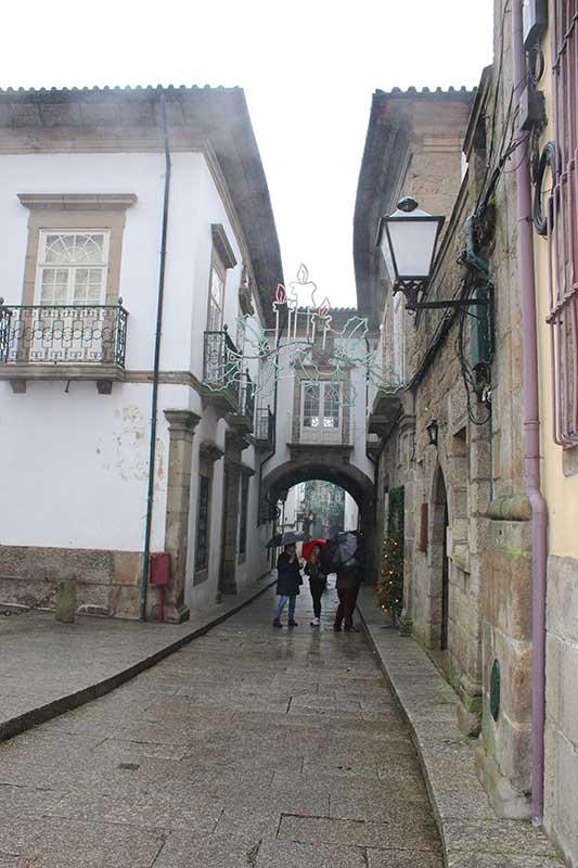Ruas de Guimarães Portugal