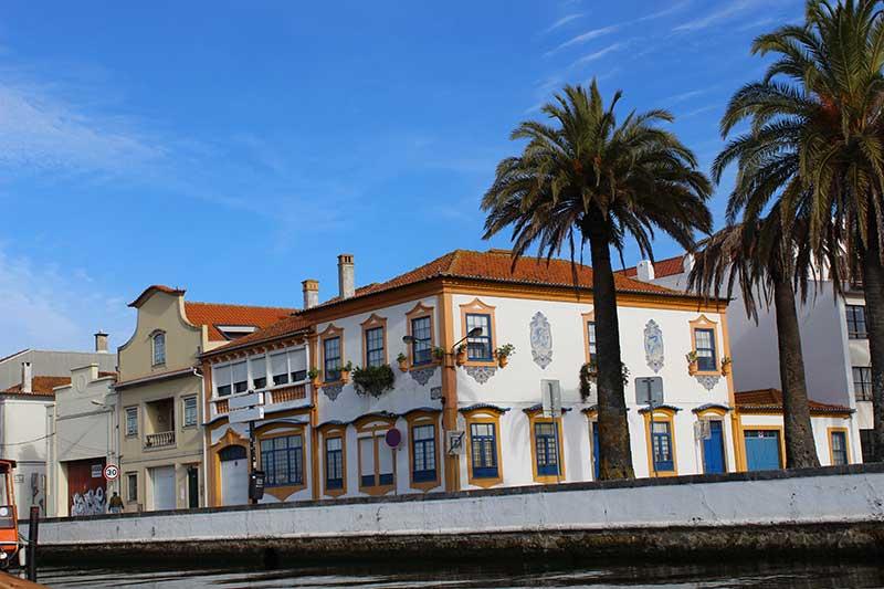 Centro Histórico de Aveiro Visto dos Canais - O que fazer em Aveiro