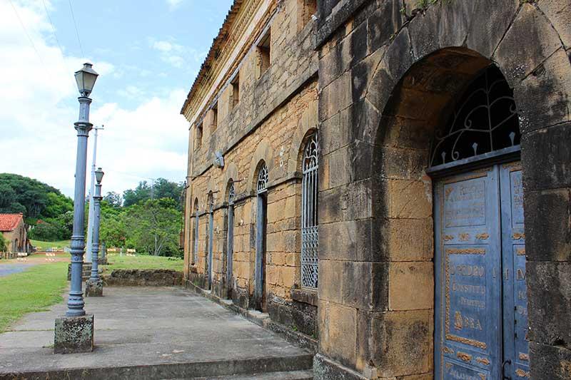 Fachada Casa da Guarda - Fazenda Ipanema Sorocaba