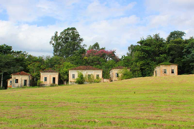 Casas Antigas - Fazenda Ipanema