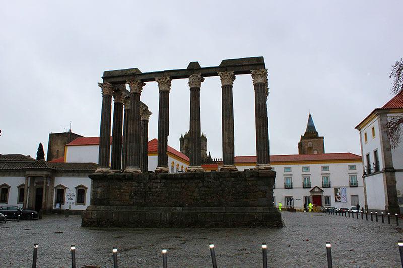 Templo Romano ou de Diana - Évora - O que fazer em Évora