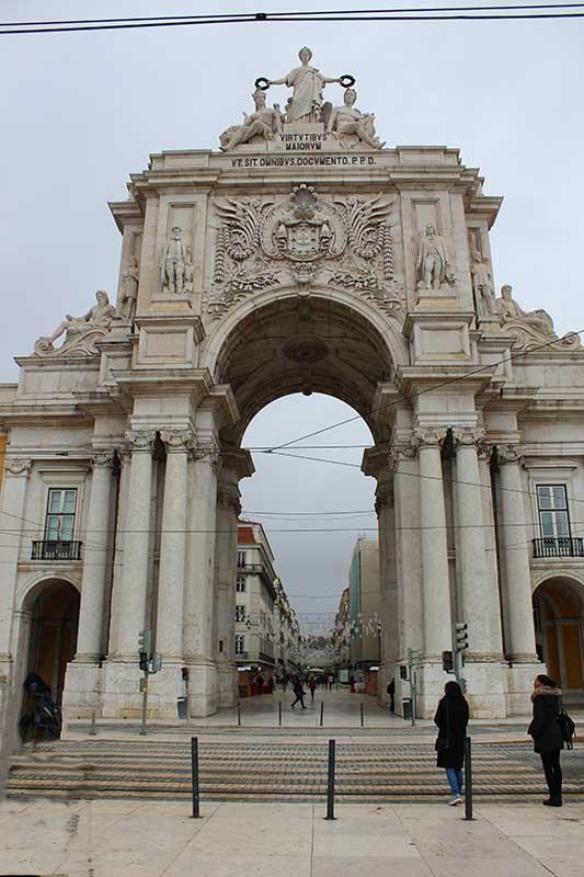 Arco da Rua Augusta - O que fazer em Lisboa