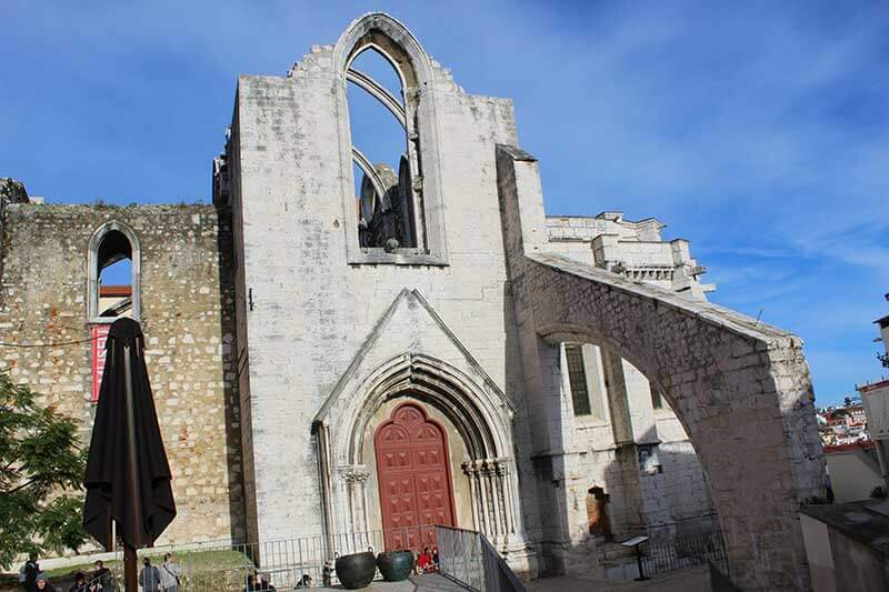 Igreja e Convento do Carmo - Lisboa