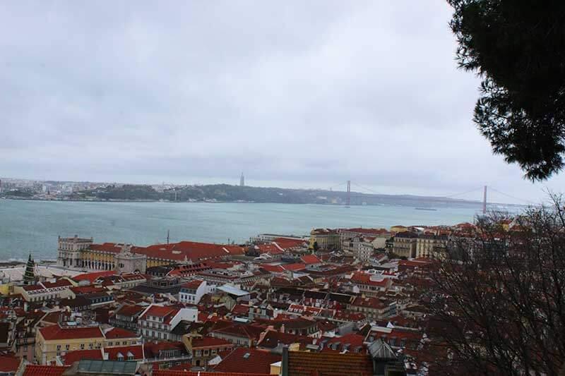 Vista do Castelo São Jorge - Lisboa